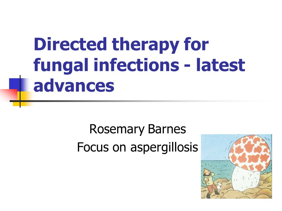 Directed therapy for fungal infections - latest advances