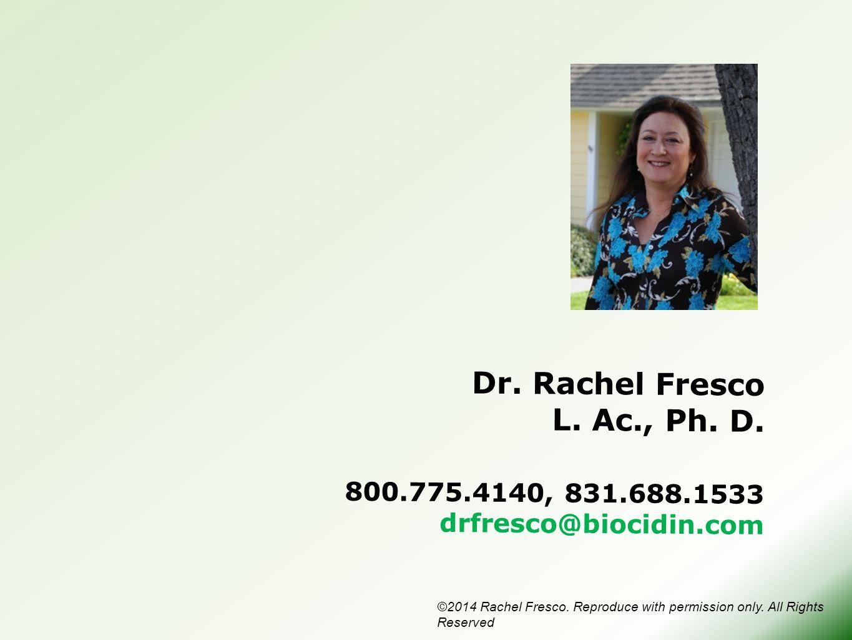 800.775.4140, 831.688.1533 drfresco@biocidin.com