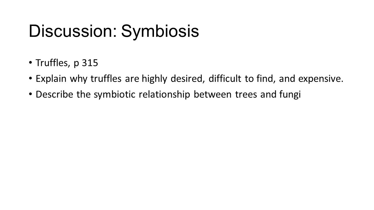 Discussion: Symbiosis