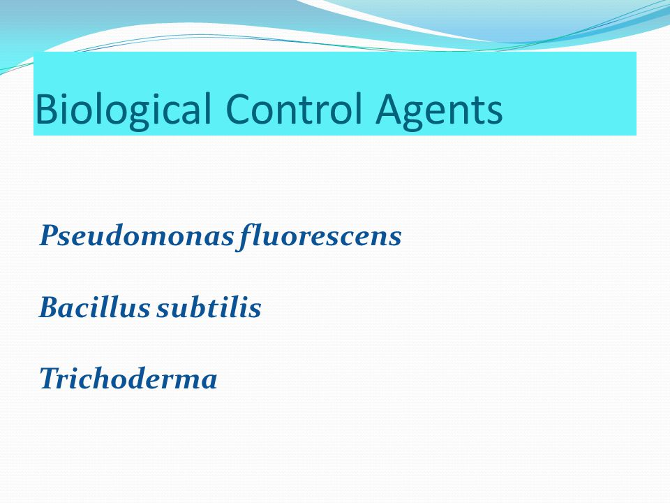 Biological Control Agents