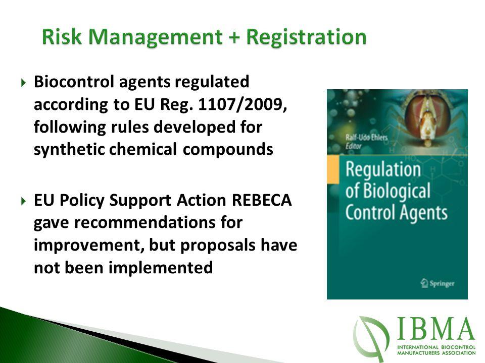 Risk Management + Registration