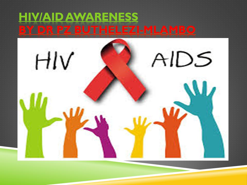 HIV/AID awareness by Dr PZ Buthelezi-Mlambo