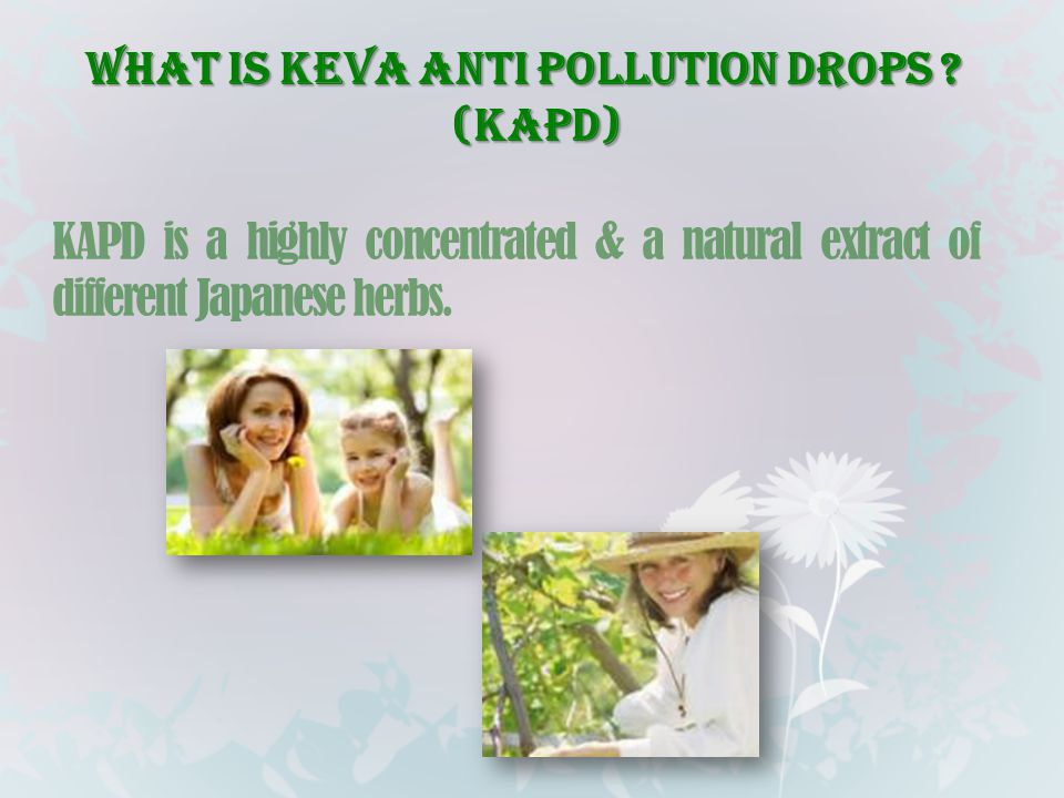 What is Keva Anti Pollution Drops