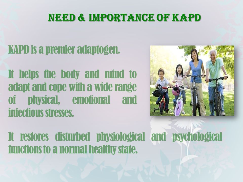 Need & Importance of KAPD
