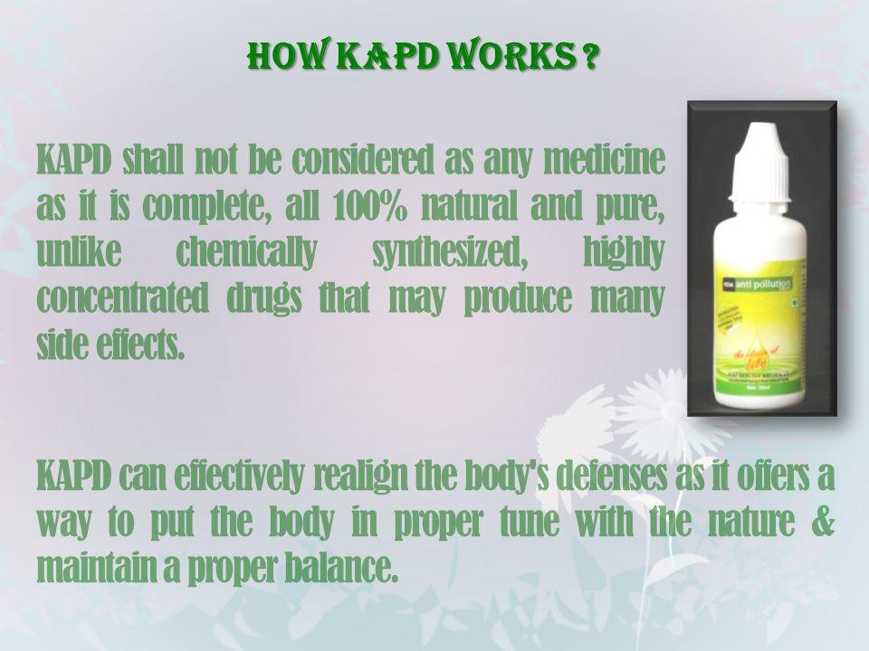 How KAPD works