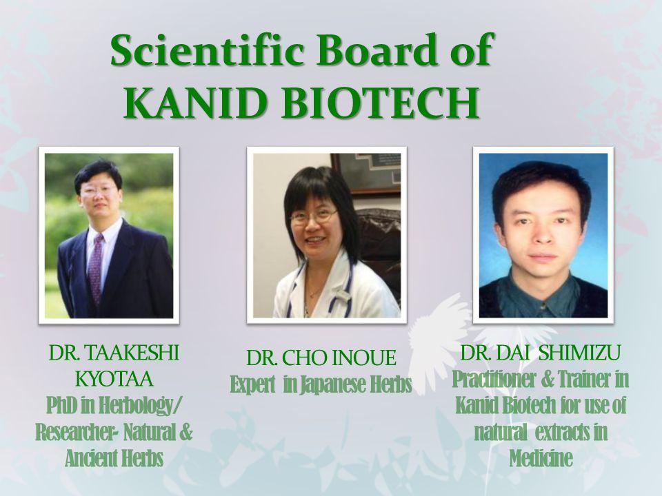 Scientific Board of KANID BIOTECH