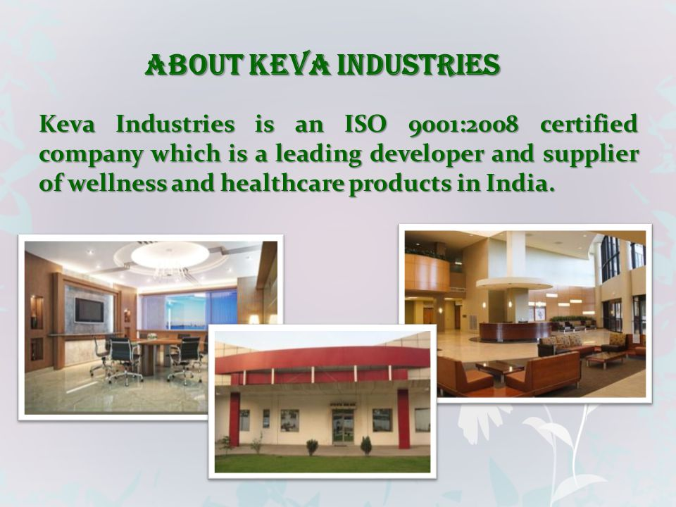 ABOUT KEVA INDUSTRIES