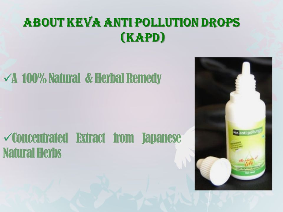 About Keva Anti Pollution Drops