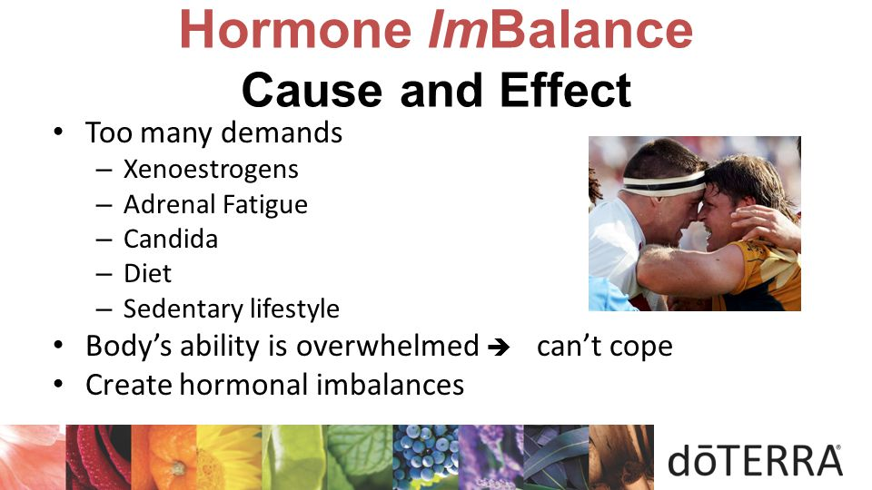 Hormone ImBalance Cause and Effect