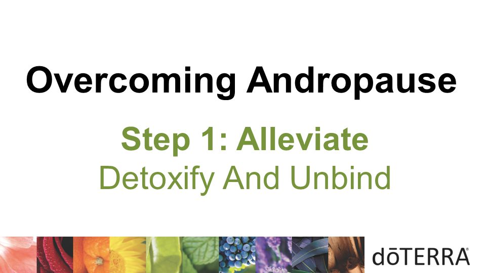 Overcoming Andropause