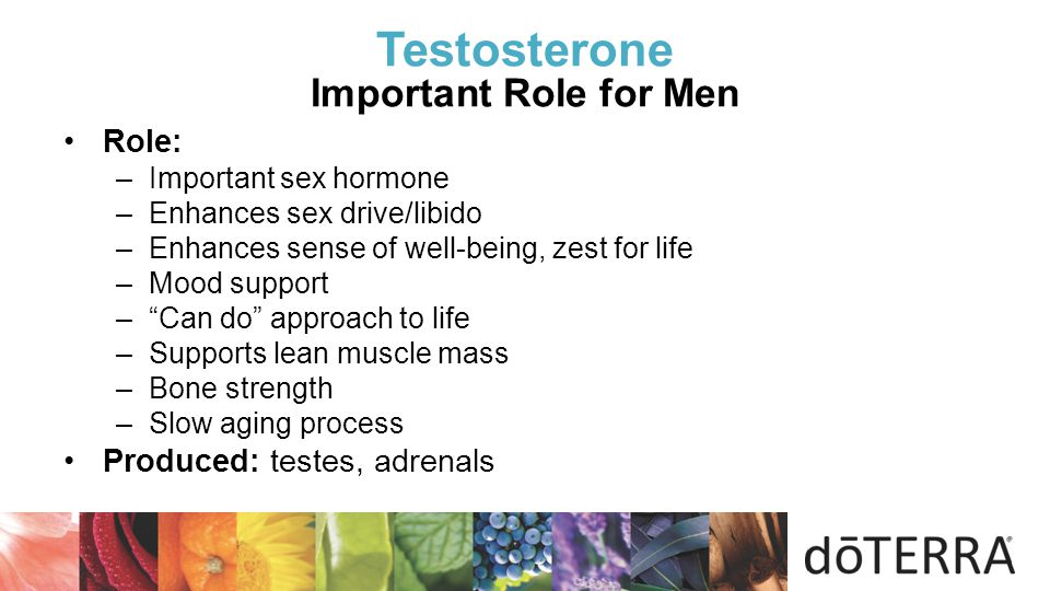 Testosterone Important Role for Men