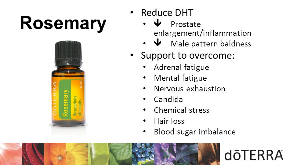  Reduce DHT Support to overcome:  Prostate enlargement/inflammation