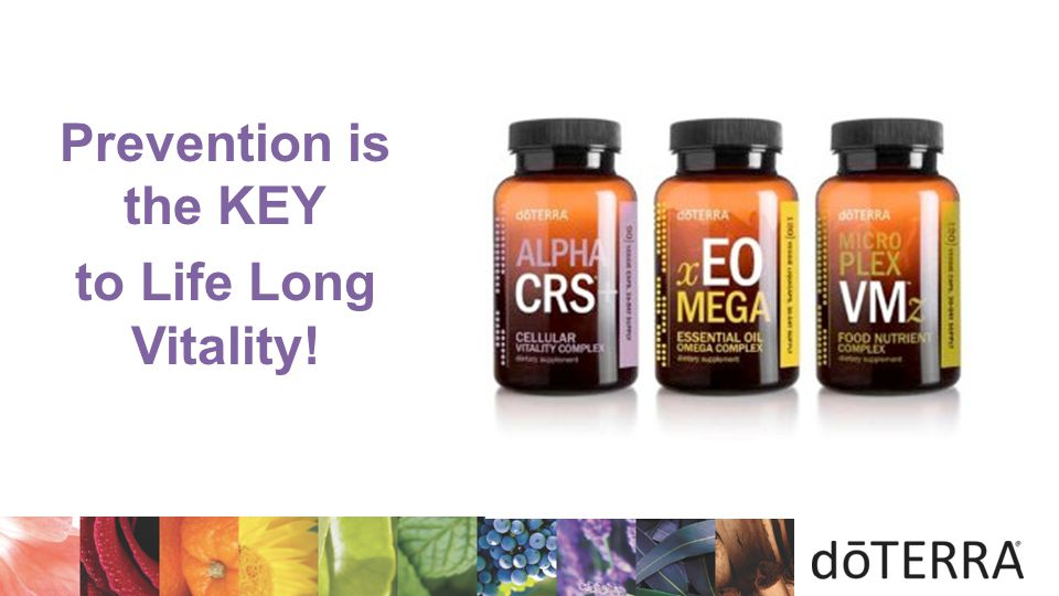 Prevention is the KEY to Life Long Vitality!
