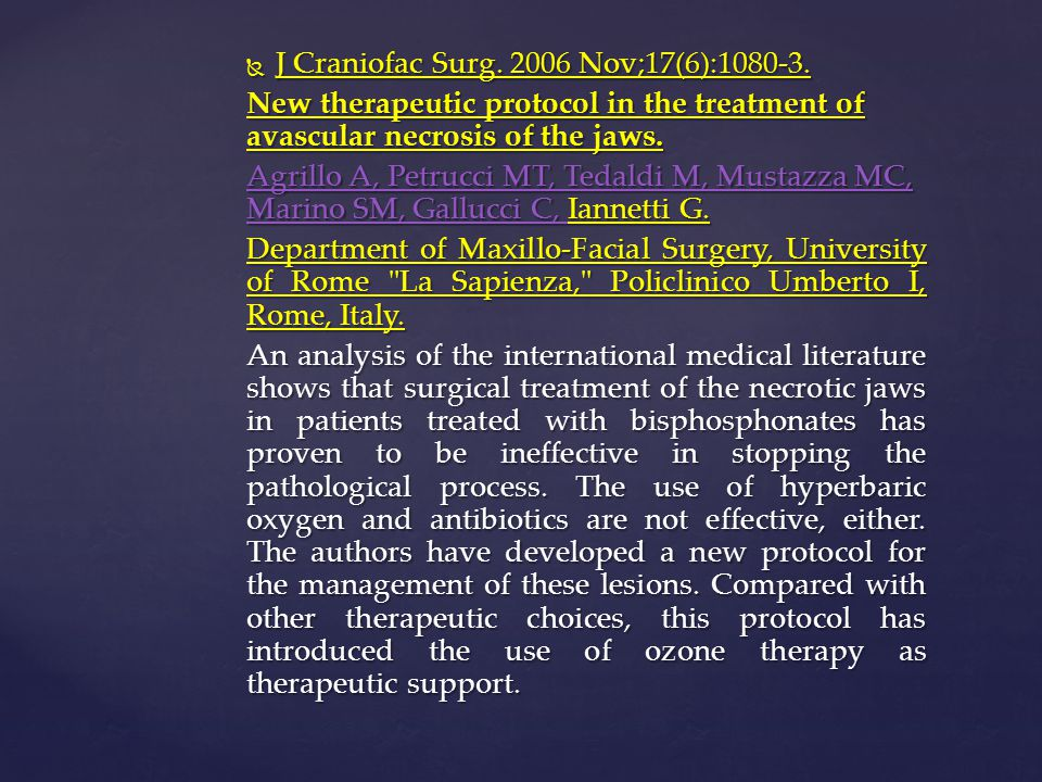 J Craniofac Surg. 2006 Nov;17(6):1080-3.