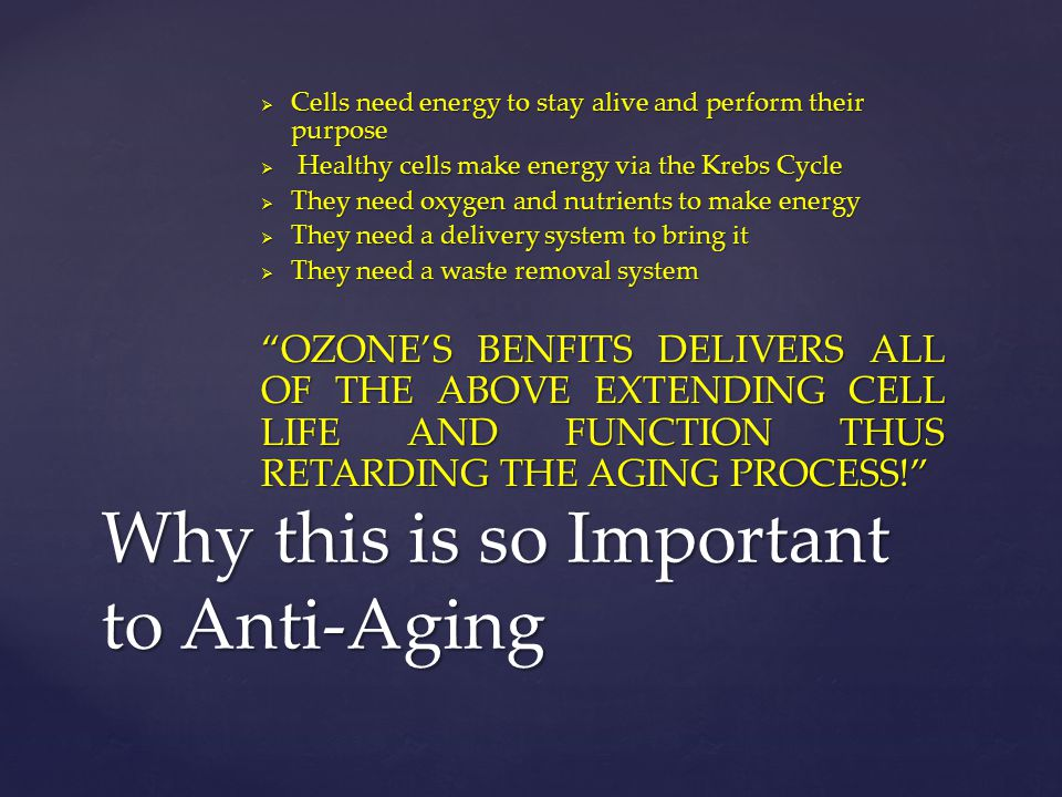 Why this is so Important to Anti-Aging