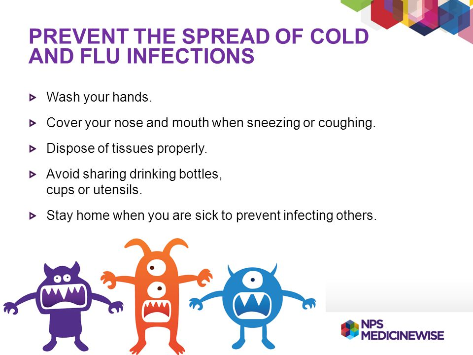 Prevent the spread of Cold and Flu infections