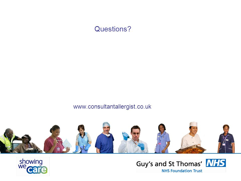 Questions www.consultantallergist.co.uk