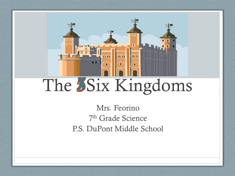 Mrs. Feorino 7th Grade Science P.S. DuPont Middle School