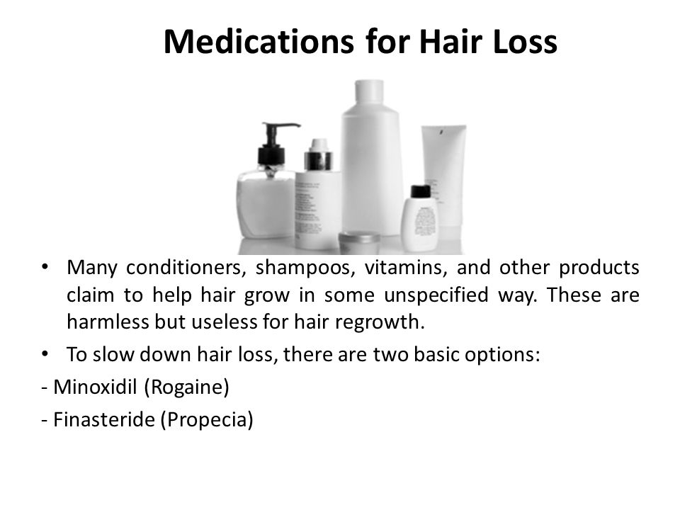 Medications for Hair Loss