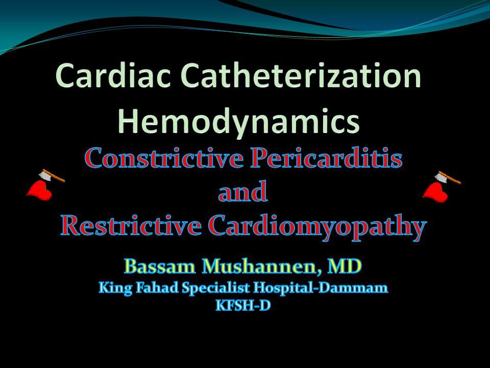 Cardiac Catheterization Hemodynamics