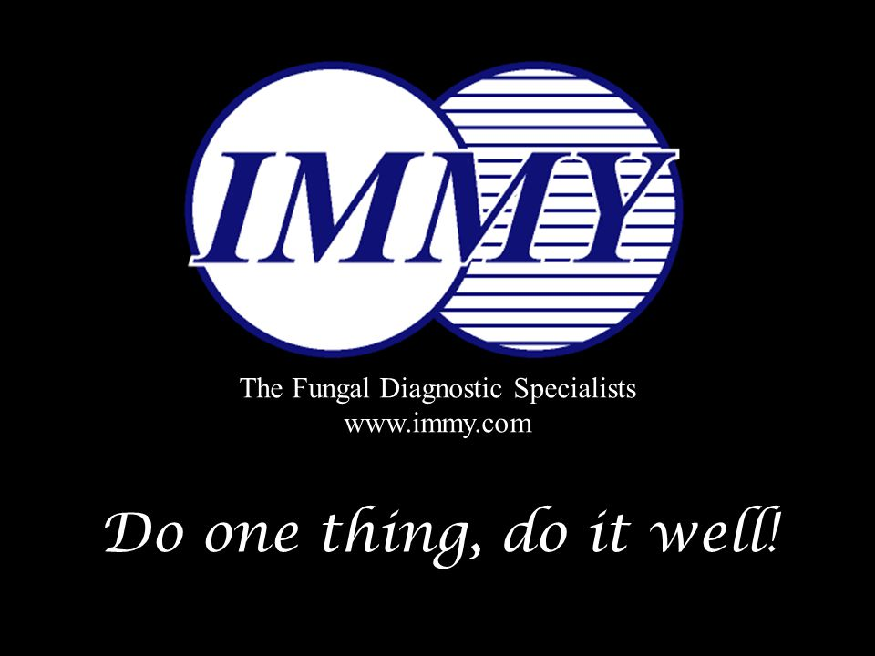 The Fungal Diagnostic Specialists