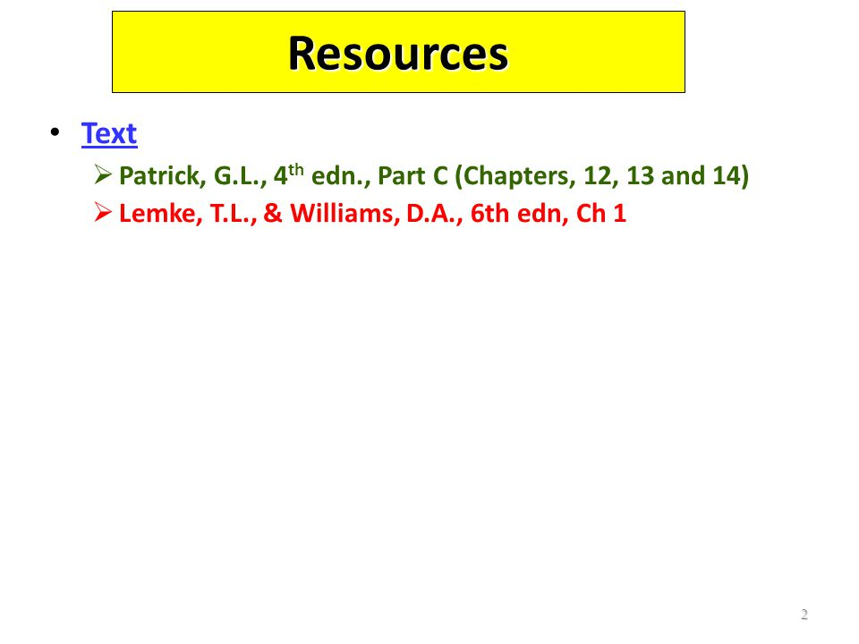 Resources Text.