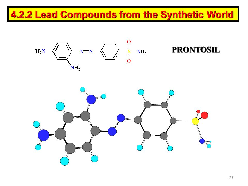 4.2.2 Lead Compounds from the Synthetic World