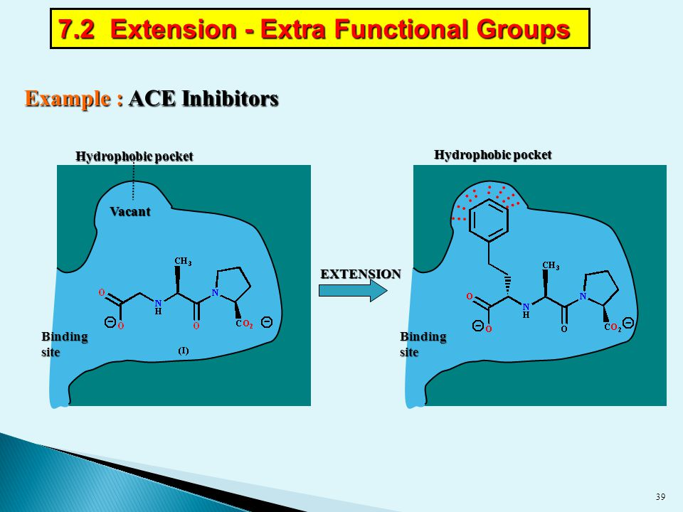 7.2 Extension - Extra Functional Groups