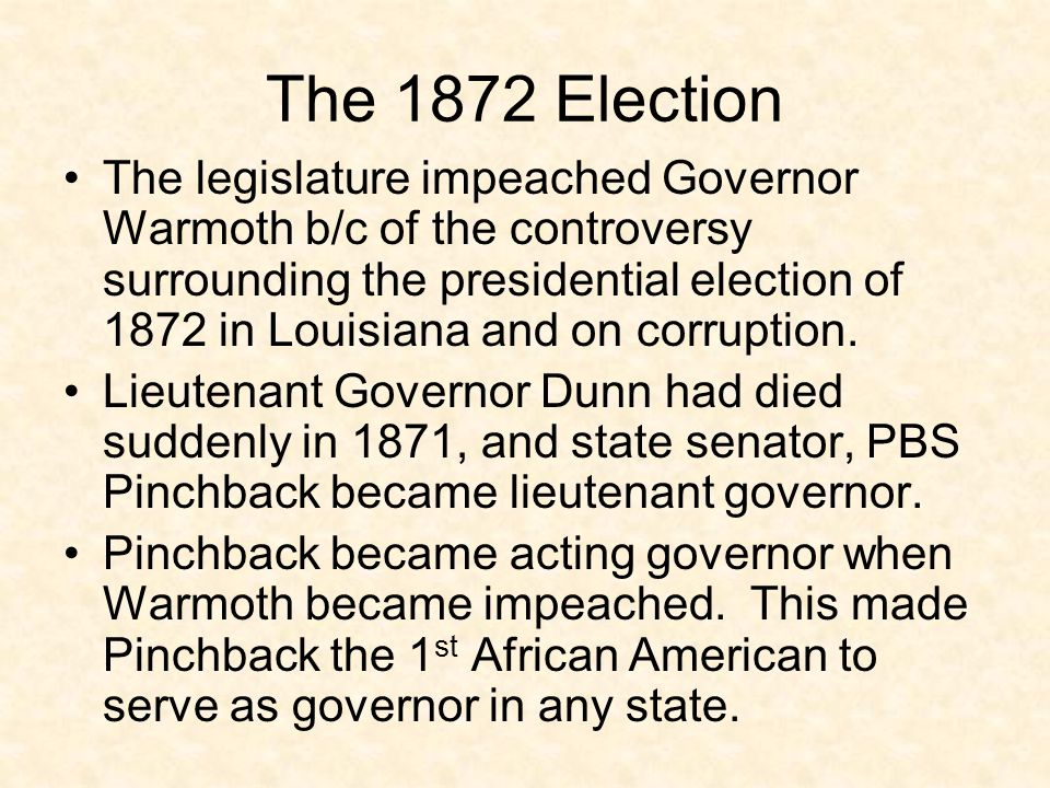 The 1872 Election