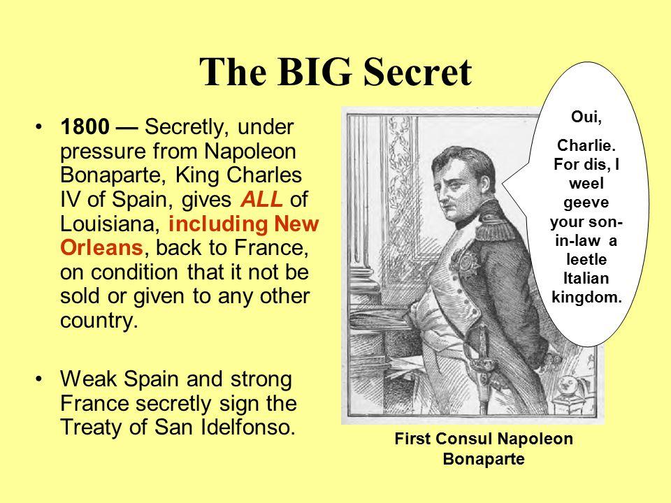 First Consul Napoleon Bonaparte
