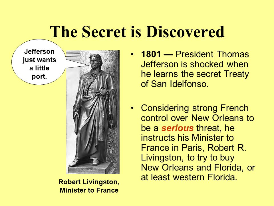 The Secret is Discovered