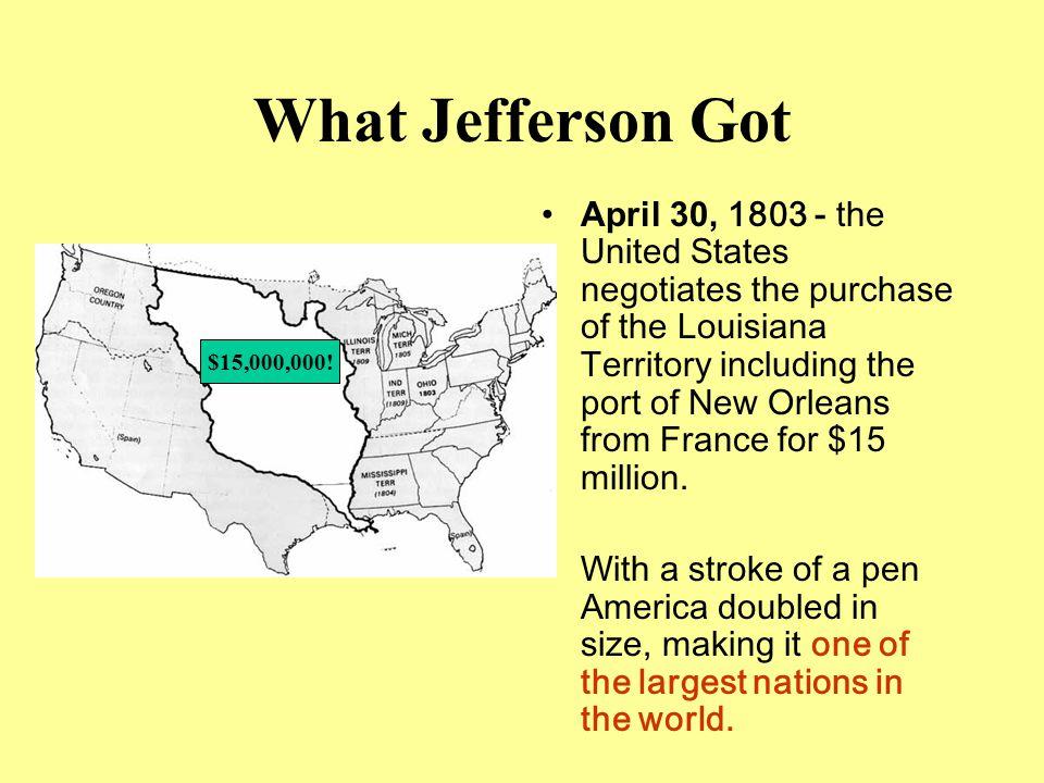 What Jefferson Got