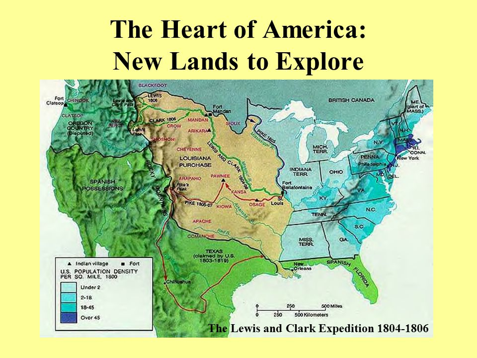 The Heart of America: New Lands to Explore
