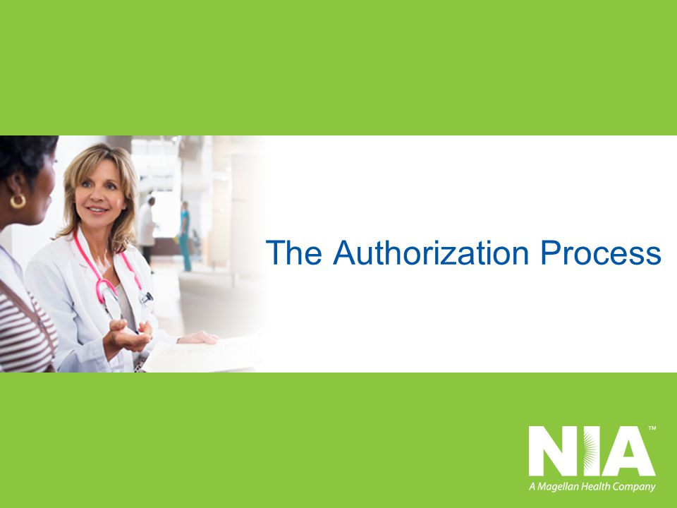 The Authorization Process