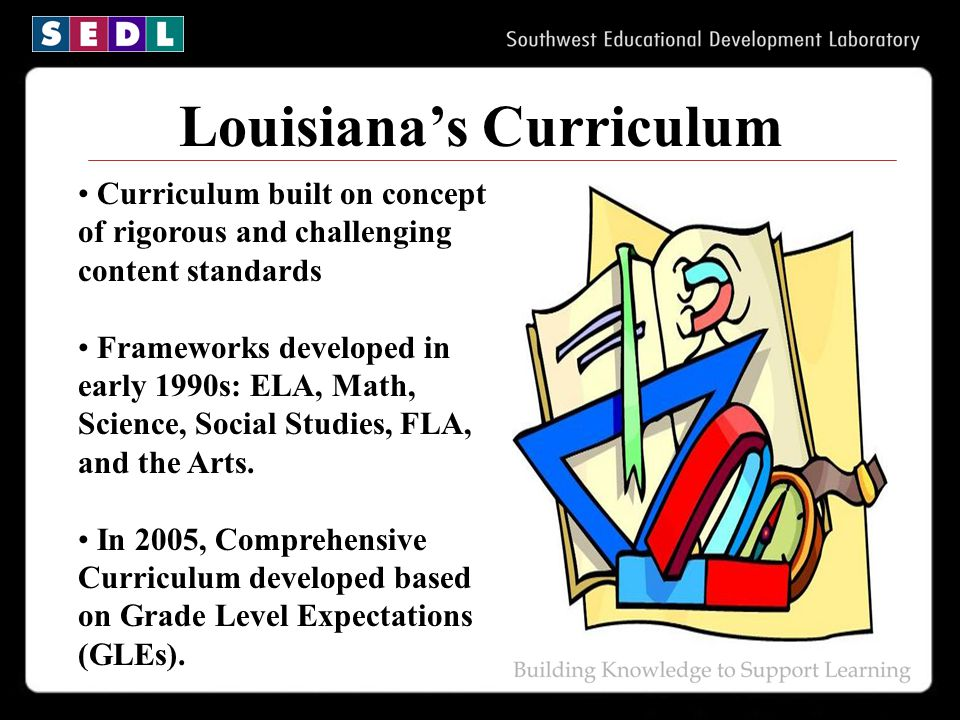 Louisiana's Curriculum
