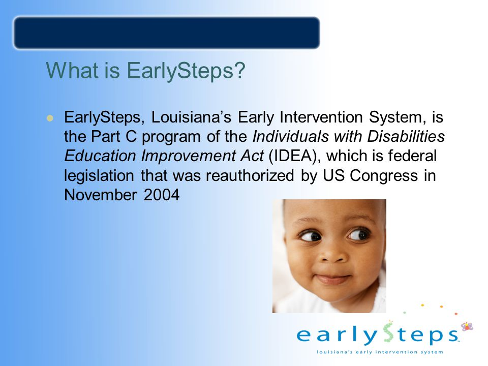What is EarlySteps