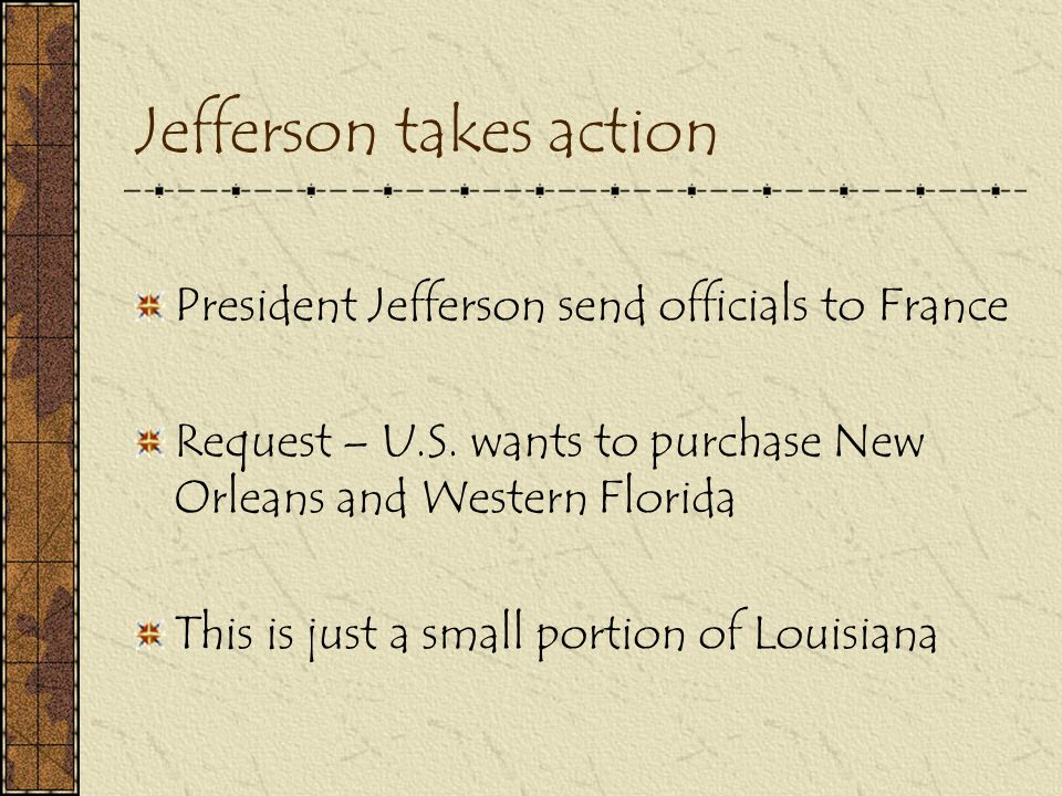 Jefferson takes action