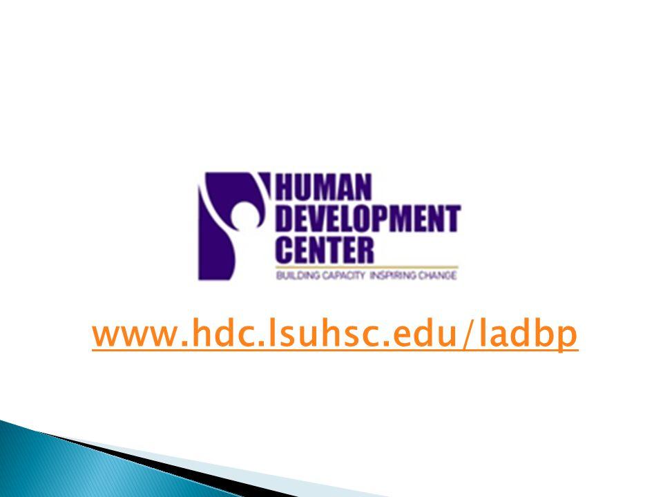 www.hdc.lsuhsc.edu/ladbp