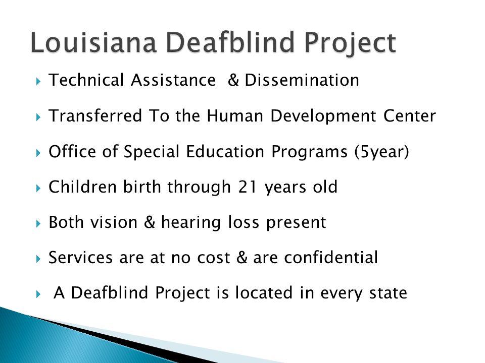 Louisiana Deafblind Project