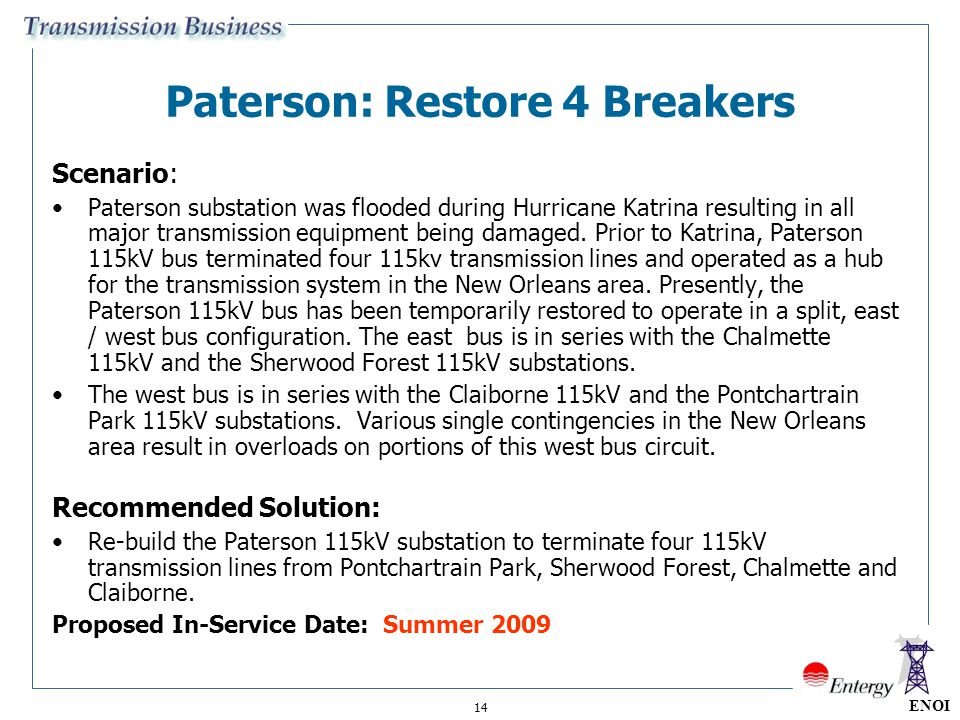 Paterson: Restore 4 Breakers