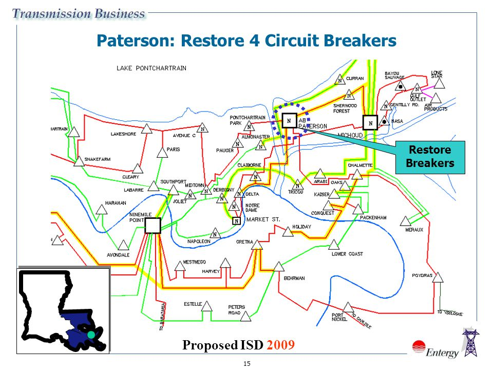 Paterson: Restore 4 Circuit Breakers