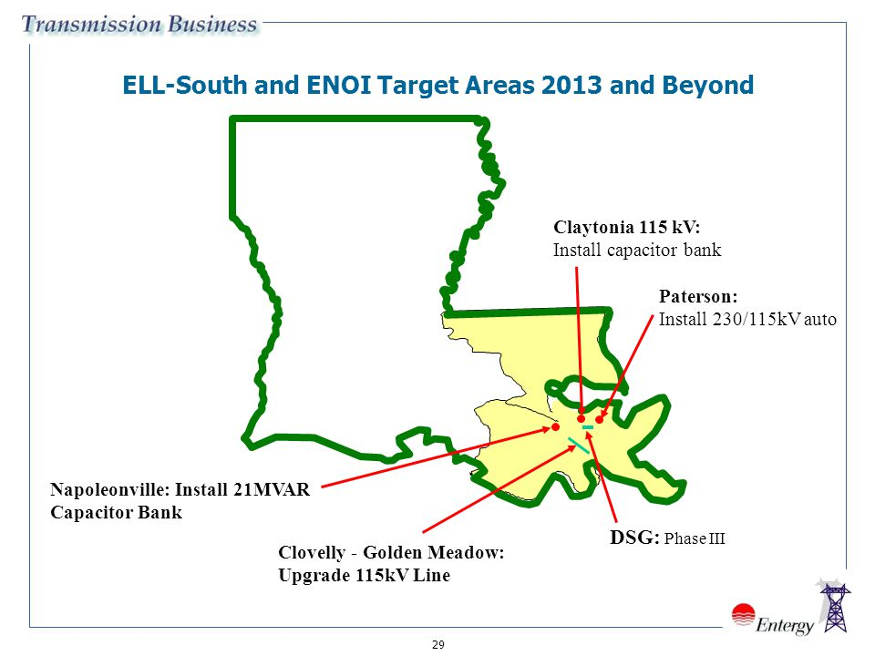 ELL-South and ENOI Target Areas 2013 and Beyond