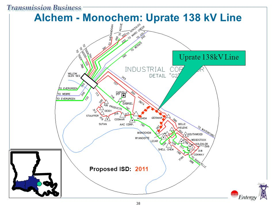 Alchem - Monochem: Uprate 138 kV Line