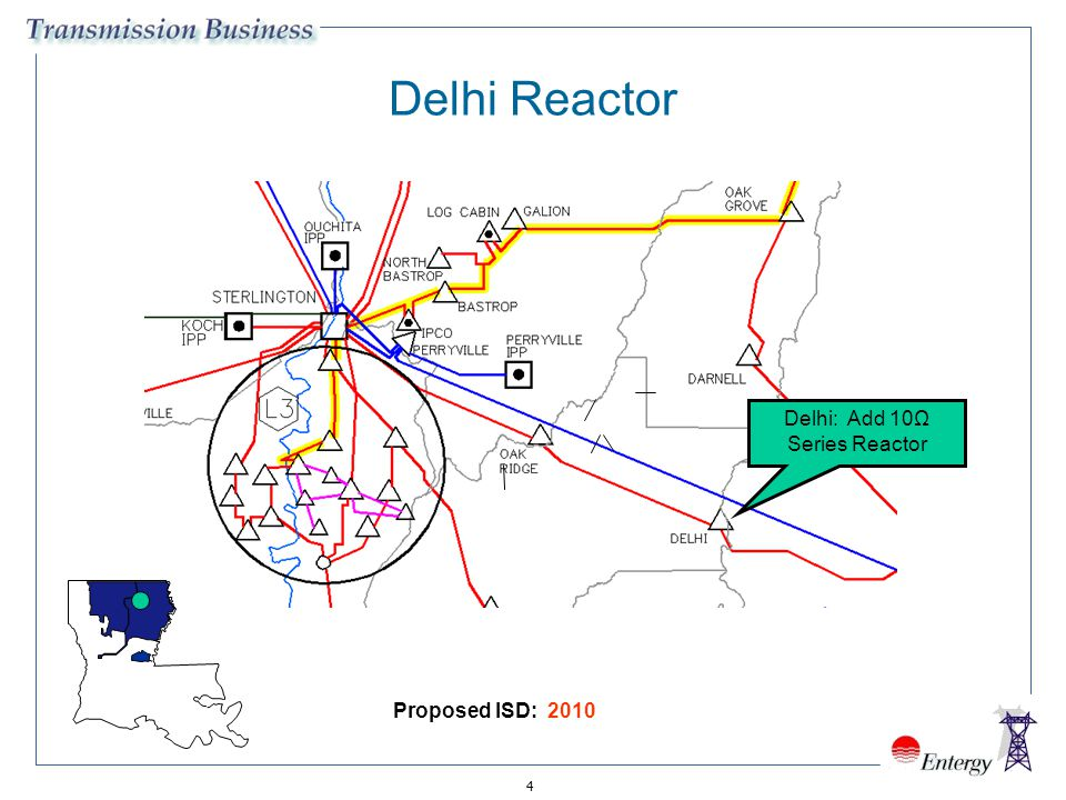 Delhi: Add 10Ω Series Reactor
