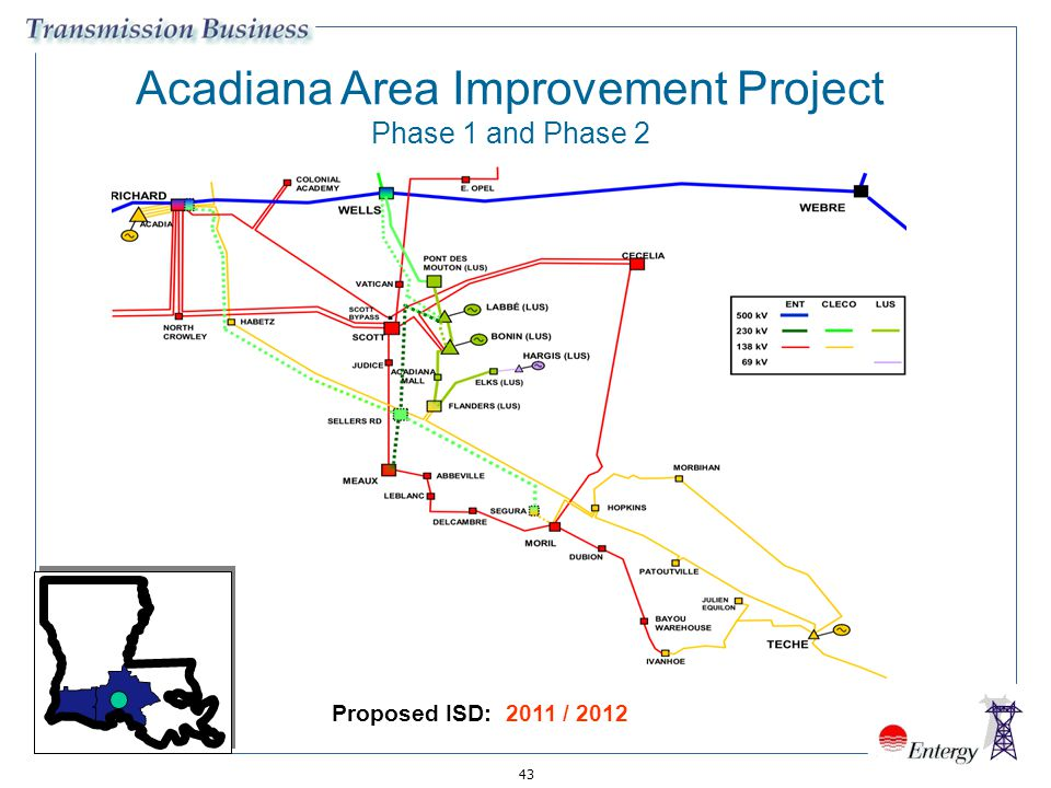 Acadiana Area Improvement Project Phase 1 and Phase 2