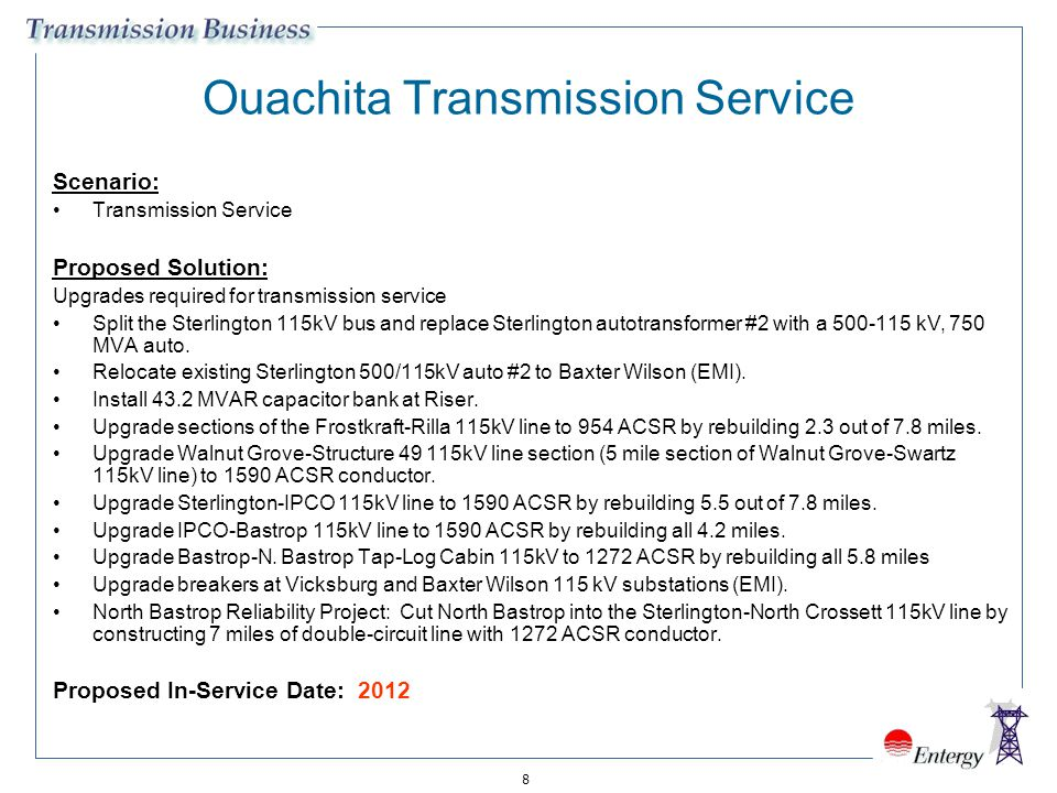 Ouachita Transmission Service