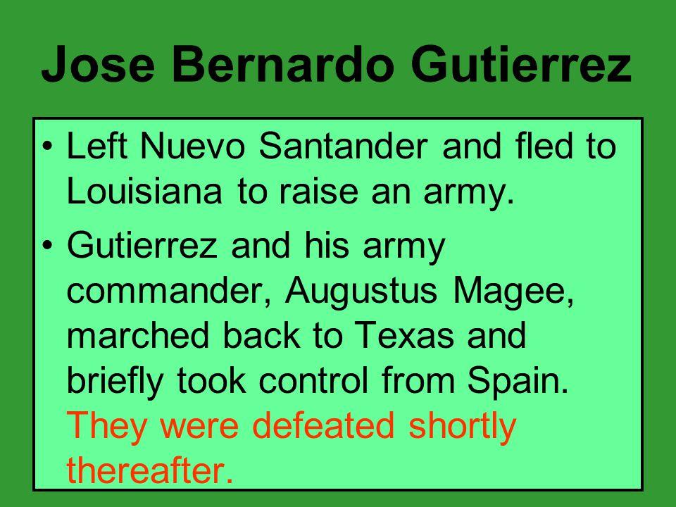 Jose Bernardo Gutierrez