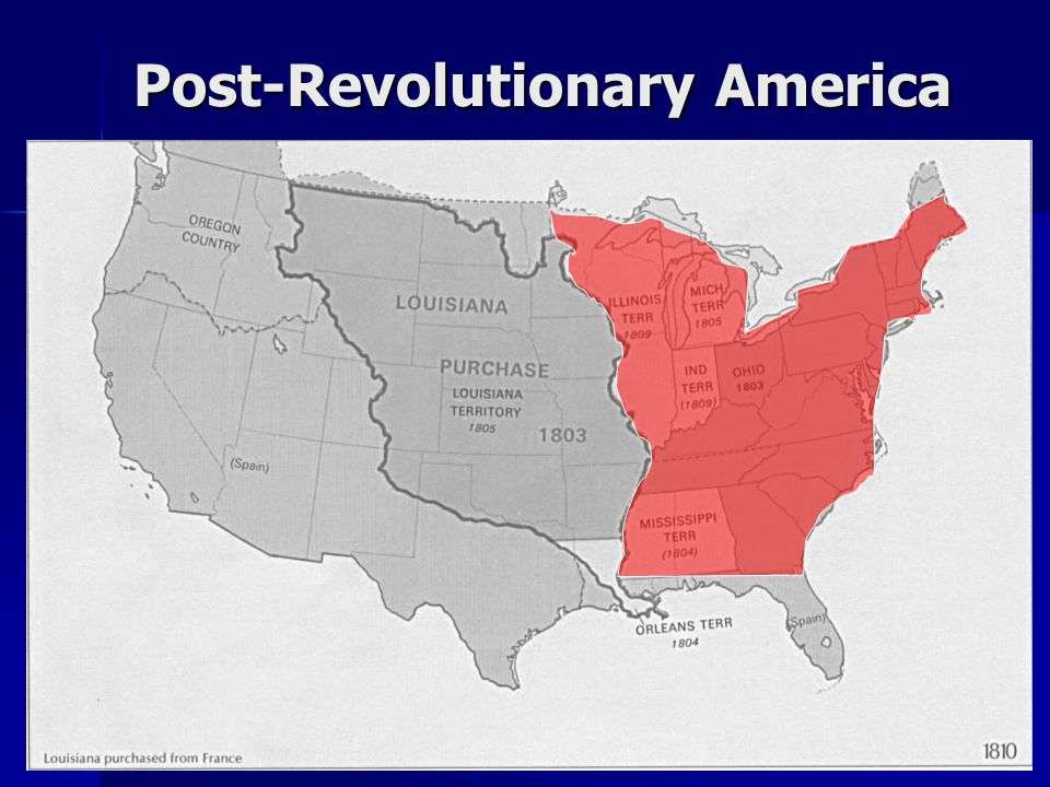 Post-Revolutionary America