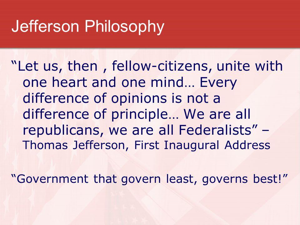 Jefferson Philosophy