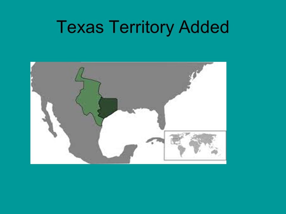 Texas Territory Added